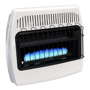 liquid propane heater by DYNA-GLO