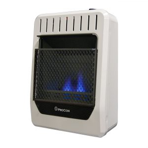 Ventless propane heater by PROCOM