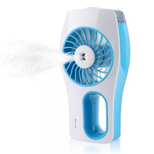 HANDHELD USB HUMIDIFIER WITH MISTING FAN by IEGROW