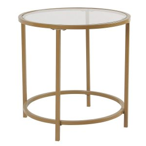 Round accent table by SPATIAL ORDER