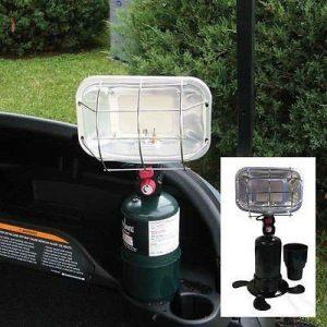 Propane golf cart heater
